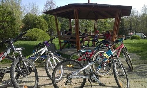 Планинско колоездене в парковете на София