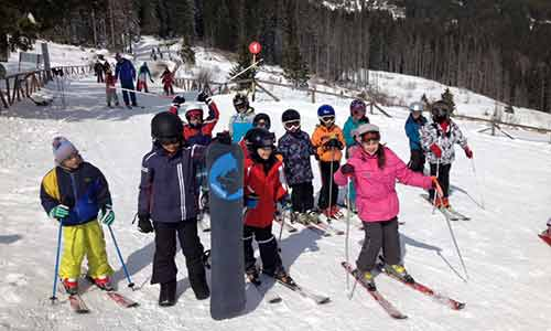 Ски училище за деца